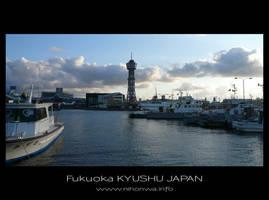 Fukuoka port by Lou-NihonWa