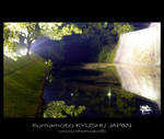 Night scenery -Kumamoto castle by Lou-NihonWa