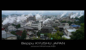 Beppu the smoking city by Lou-NihonWa