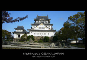Kishiwada castle -2- by Lou-NihonWa