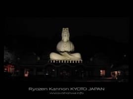 Ryozen Kannon by night by Lou-NihonWa