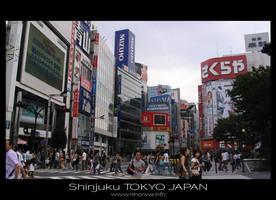Shinjuku by Lou-NihonWa