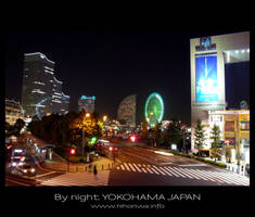 Yokohama by night -1- by Lou-NihonWa