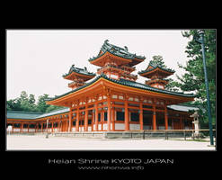 Heian shrine -1- by Lou-NihonWa