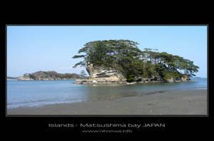 Islands of Matsushima bay by Lou-NihonWa