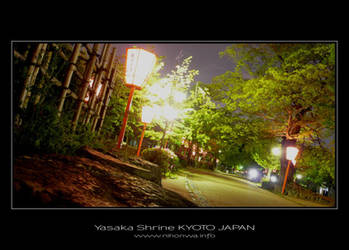 Night scenery at Yasaka -1- by Lou-NihonWa