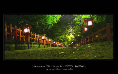 Night scenery at Yasaka -2- by Lou-NihonWa