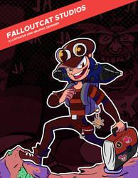 Portfolio Cover by FalloutCat