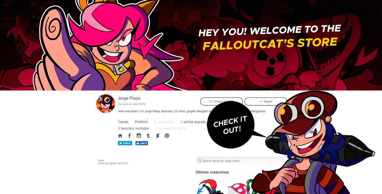 Falloutcat on Redbubble! by FalloutCat