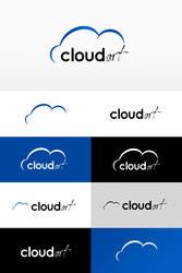 cloud art - logo by mooseARTS