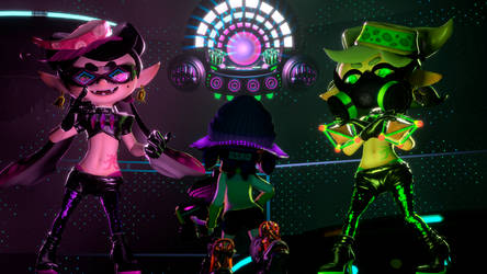 The Octo Sisters by Optimus97