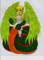 Quetzalcoatl by Graydrone