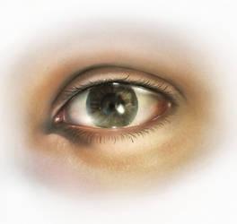Human Eye by AaronRutten