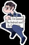DBH Connor Pagedoll by OkamiGekido