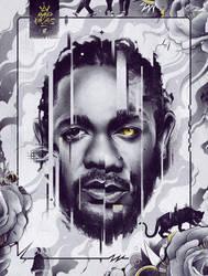 Kendrick Lamar (Black Panther) by ChrisBMurray