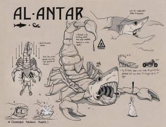 AL-ANTAR Concept Art (SAVAGE GAME) by ChrisBMurray