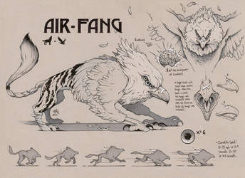 AIR FANG Concept Art (SAVAGE GAME) by ChrisBMurray