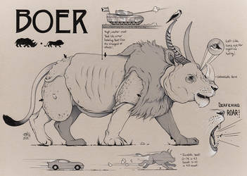 BOER Concept Art (Savage Game) by ChrisBMurray
