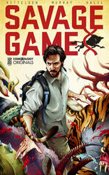 SAVAGE GAME Cover Art by ChrisBMurray