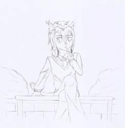 Random Sketch by Amakakeryu