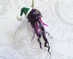 Jolly Jelly Ornament by DragonsAndBeasties