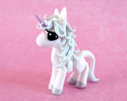 Mini Last Unicorn by DragonsAndBeasties