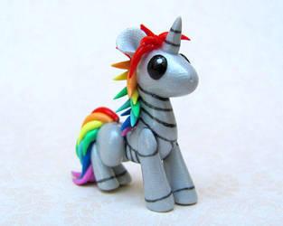 Robot Unicorn by DragonsAndBeasties