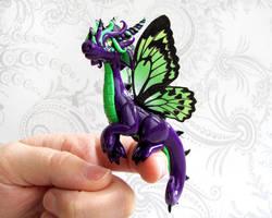 Butterfly Fairy Dragon by DragonsAndBeasties
