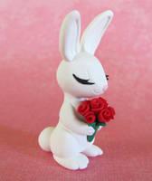 Bunny Bride by DragonsAndBeasties