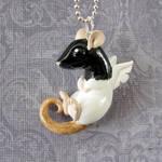 Angel Ratty by DragonsAndBeasties