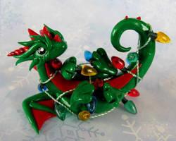 Tangled Dragon by DragonsAndBeasties