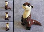 Otter by DragonsAndBeasties
