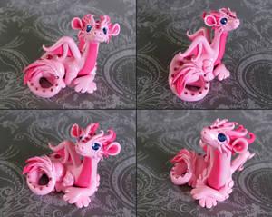 Pink Dragon by DragonsAndBeasties