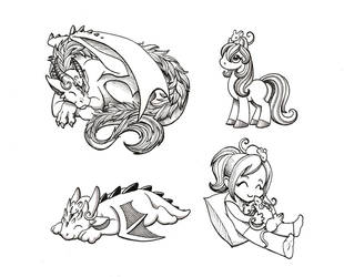Ratties Make Everything Better by DragonsAndBeasties