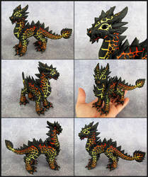 Adult Magma Dragon - Magmax by DragonsAndBeasties