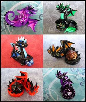 Dice Dragons by DragonsAndBeasties