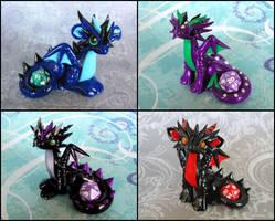 Mini Dice Dragons by DragonsAndBeasties