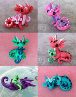 Mama Scrap Dragons by DragonsAndBeasties