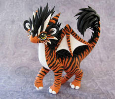 Tiger-dragon by DragonsAndBeasties