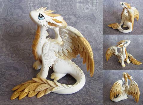 Angel Dragon by DragonsAndBeasties