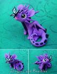 Sculptober Day1: Happy by DragonsAndBeasties