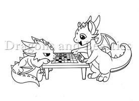 Inktober: Games by DragonsAndBeasties