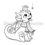 Inktober: Winter by DragonsAndBeasties