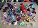 All of Sculptober by DragonsAndBeasties