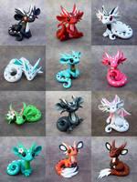 Dragon Sale June 28th by DragonsAndBeasties