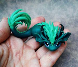 Feisty Little Dragon by DragonsAndBeasties