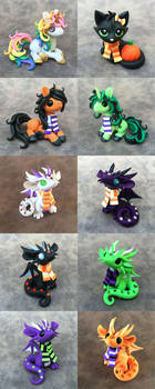 Scarf Critters Sale by DragonsAndBeasties