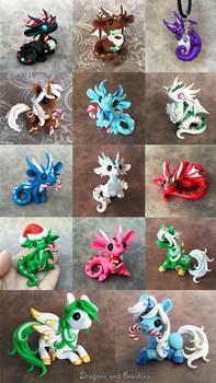 Christmas Sale 2015 by DragonsAndBeasties