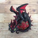 Oversized Dice Dragon by DragonsAndBeasties
