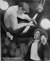 GG and Gustavo Dudamel by yuzu1009